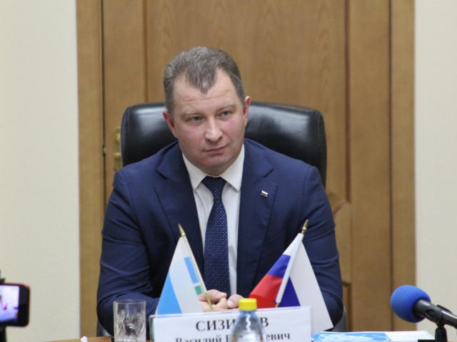 Василий Витальевич Сизиков провел пресс-конференцию